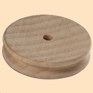 wooden circle slicker