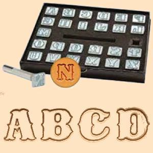 Leather Stamp Set Alphabet Stamps Leatherwork Leathercraft