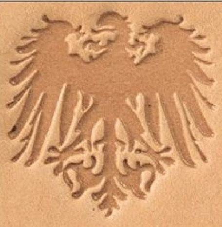 crest leathercraft 3D pictorial stamp, leather stamp, leathercraft, leatherwork, leathercraft supplies