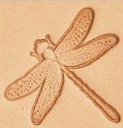 dragonfly 3d stamp, leather stamp leather stamping leathercraft , leatherwork, leathercraft supplies