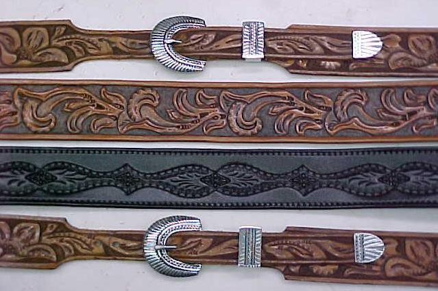 Leathercraft belt, carved leather belts, belt making, belt