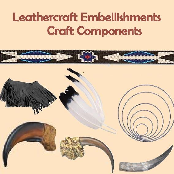 leathercraft embellishments craft components for leather