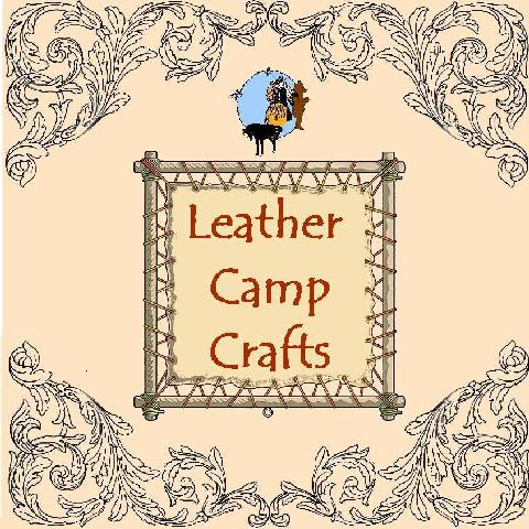 camp crafts, leather camp craft, leathercraft kits for camp