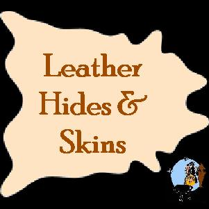 leather hides and skins