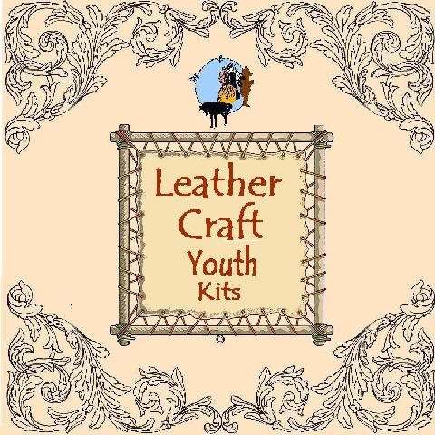 kids crafts, leather crafts for kids, leathercraft kits