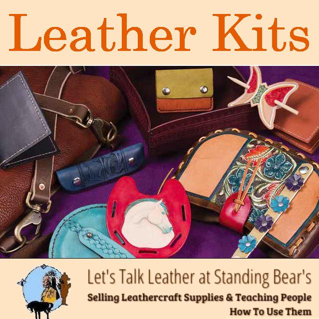 Leathercraft Kits Leather Kits At Standing Bear S Trading Post