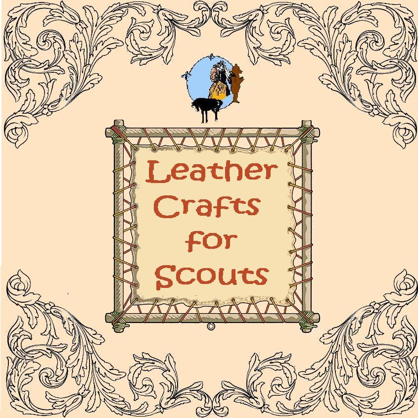 scout leathercraft kits. scout crafts, scout leather supplies