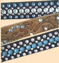 synthetic turquoise rivets, turquoise belt, crystal rivets, synthetic stones, bling belt